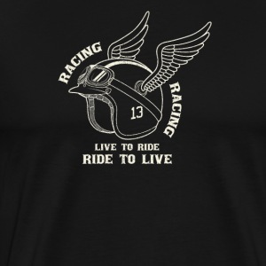 Life to ride - Men's Premium T-Shirt