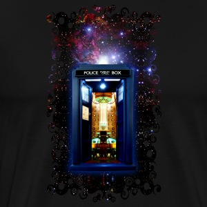 Tardis bigger on the inside - Men's Premium T-Shirt