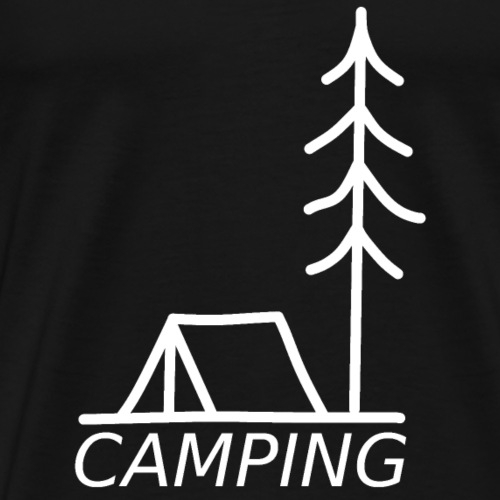 camp camper - Men's Premium T-Shirt