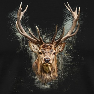 The Deer - Men's Premium T-Shirt