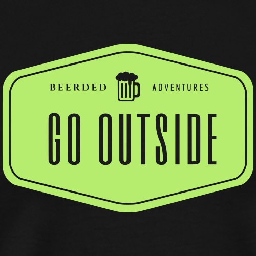 Retro Go Outside! - Men's Premium T-Shirt