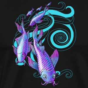 Koi Stream - Men's Premium T-Shirt