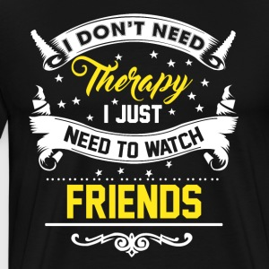 I just want friends - Men's Premium T-Shirt