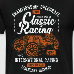 Classic Racing - Men's Premium T-Shirt