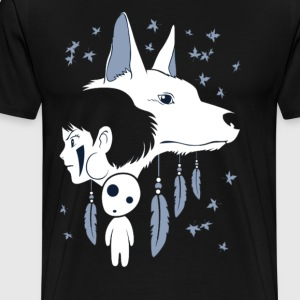 Indian Wolf - Men's Premium T-Shirt