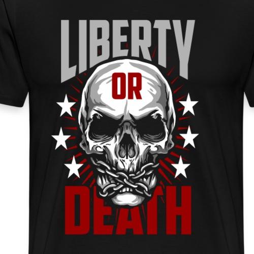 Liberty Or Death - Men's Premium T-Shirt