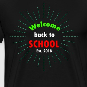 welcome back to school t-shirt - Men's Premium T-Shirt