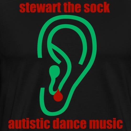 Autistic Dance Music - Men's Premium T-Shirt