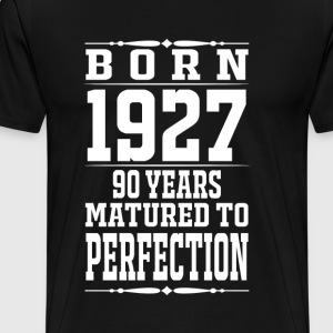 1927 - 90 years perfection - 2017 - Men's Premium T-Shirt