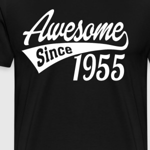 Awesome Since 1955 - Men's Premium T-Shirt