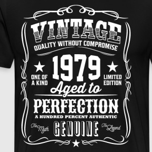 Vintage 1979 Aged to Perfection - Men's Premium T-Shirt