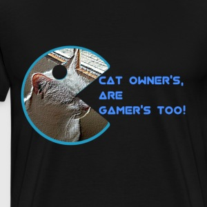 Cat & Gamer! - Men's Premium T-Shirt