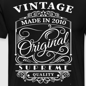Vintage Made in 2010 Original - Men's Premium T-Shirt