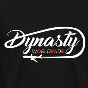 dynasty white logo - Men's Premium T-Shirt