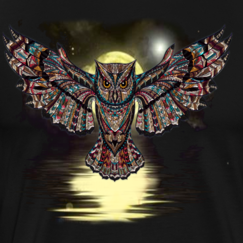 Night Owl - Men's Premium T-Shirt