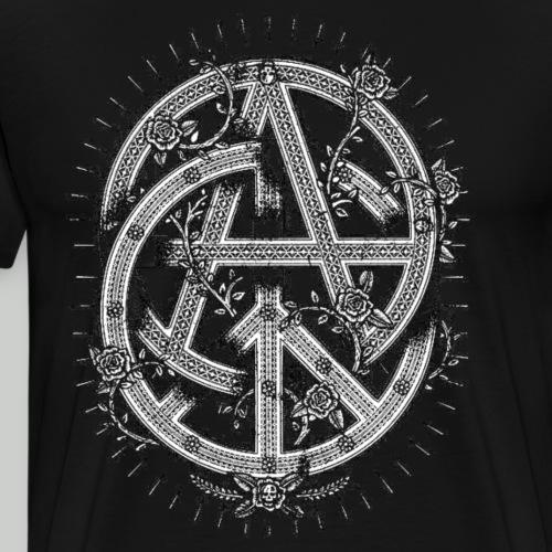 Peace N Anarchy - Men's Premium T-Shirt