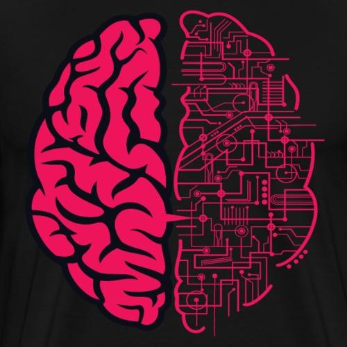 Electric Brain - Men's Premium T-Shirt