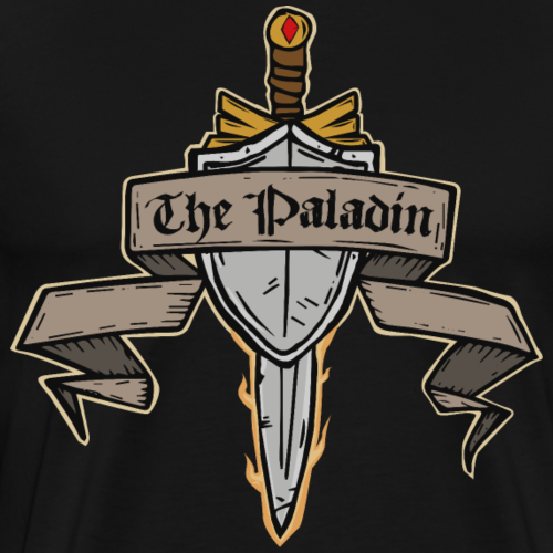 The Paladin - Men's Premium T-Shirt