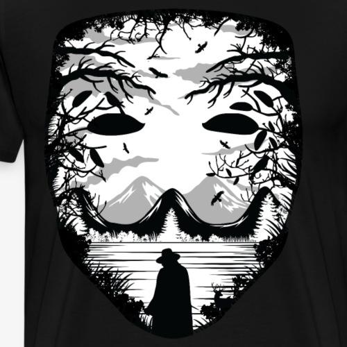 Mask - Men's Premium T-Shirt