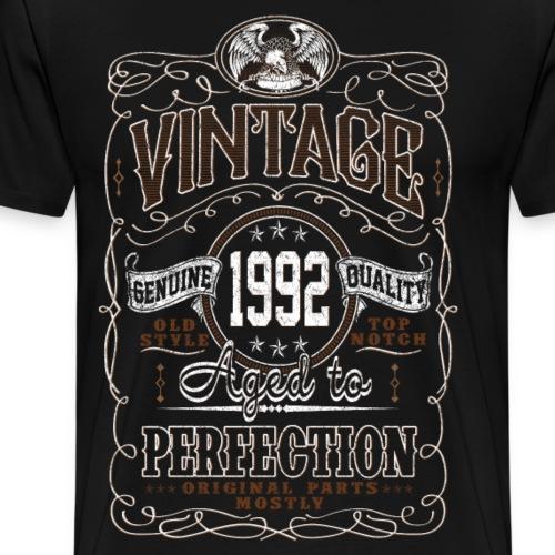 Vintage 1992 Aged To Perfection - Men's Premium T-Shirt
