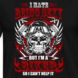 SEXY BIKER - Men's Premium T-Shirt