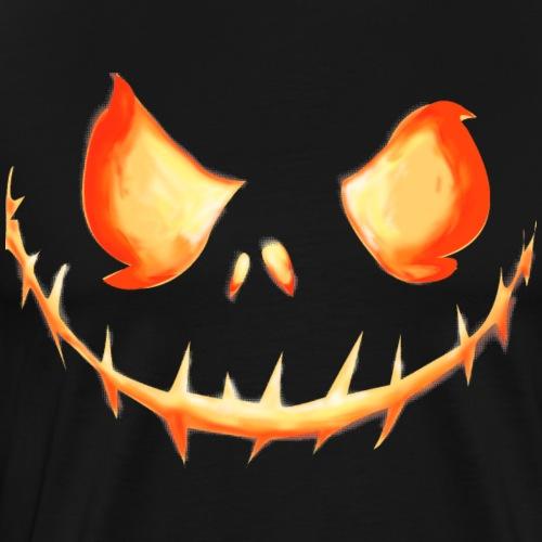 Jack o'Lantern Pumpkin King - Men's Premium T-Shirt
