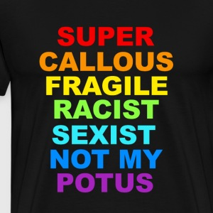 Super Callous Fragile Racist Sexist tshirt - Men's Premium T-Shirt