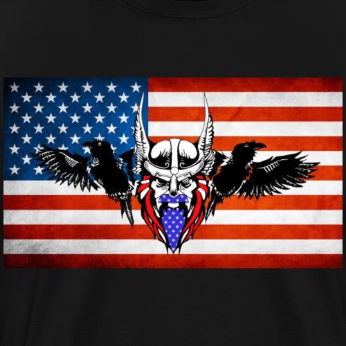 American SOO Logo - Men's Premium T-Shirt