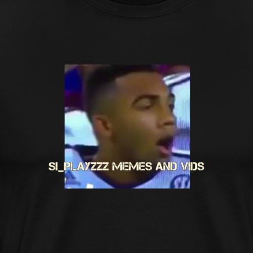 Si_Playzzz Meme And Vids Official Shirt - Men's Premium T-Shirt
