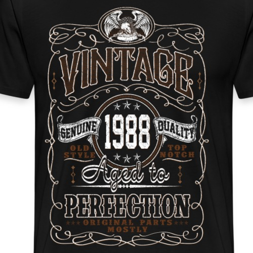 Vintage 1988 Aged To Perfection - Men's Premium T-Shirt