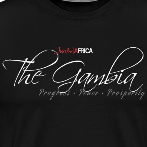 Gambia Sleek - Dark - Men's Premium T-Shirt
