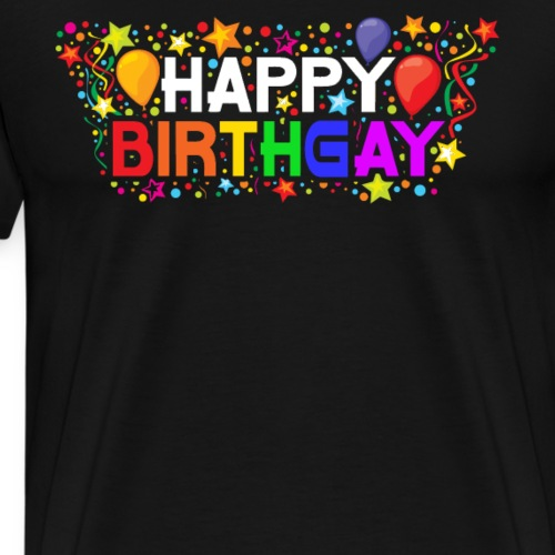 HAPPYBIRTHGAY t-shirt - Men's Premium T-Shirt