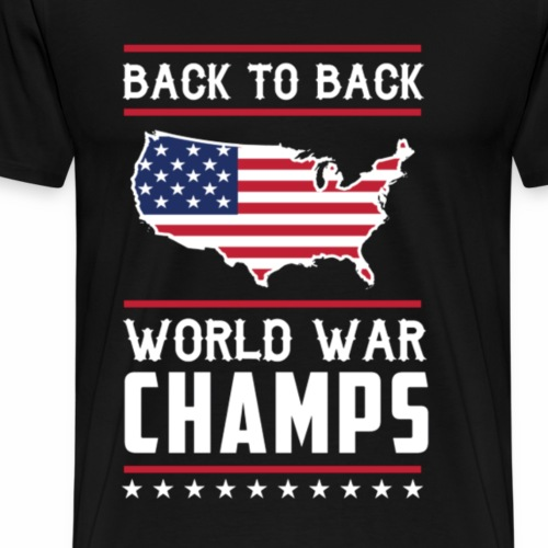 Back To Back Champs - Men's Premium T-Shirt
