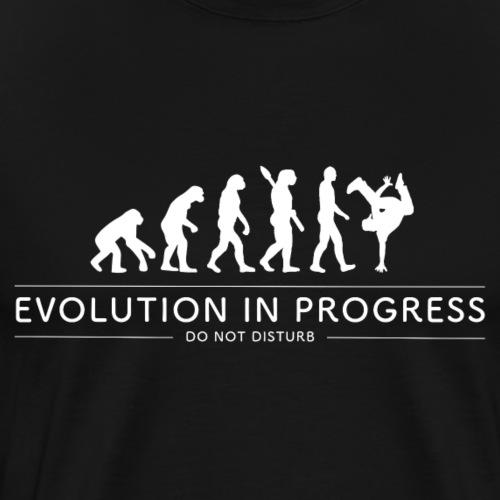 Evolution in Progress - Hip Hop - Men's Premium T-Shirt