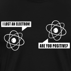 Funny ELECTRON| Engineer T-Shirt - Men's Premium T-Shirt