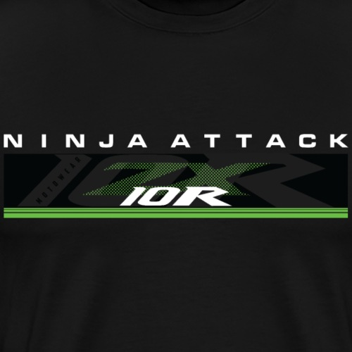 Ninja Attack - Men's Premium T-Shirt