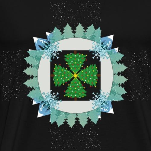 Tree Circle - Men's Premium T-Shirt