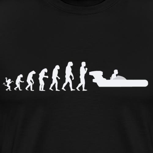 Star Wars Evolution of man : landspeeder W - Men's Premium T-Shirt