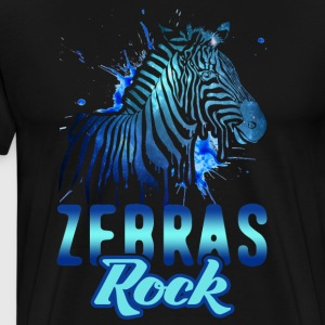 Zebras Rock Shirt - Men's Premium T-Shirt