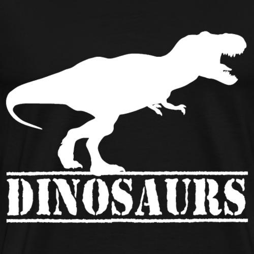 dinosaurs t-rex jurassic - Men's Premium T-Shirt