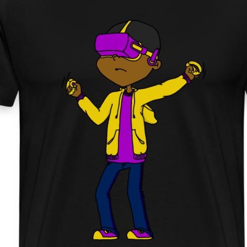 VR PIXELS - Men's Premium T-Shirt