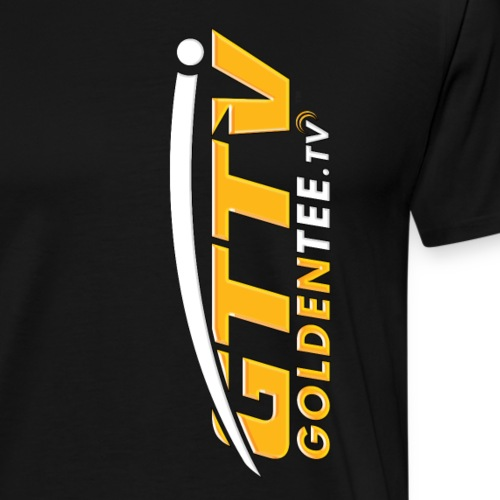 GTTV Logo (Multi-color) - Men's Premium T-Shirt