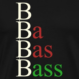 bass steps - Men's Premium T-Shirt