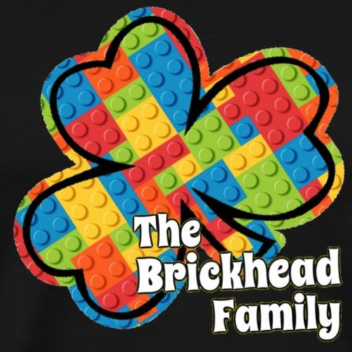 Brickhead Family Shamrock - Men's Premium T-Shirt