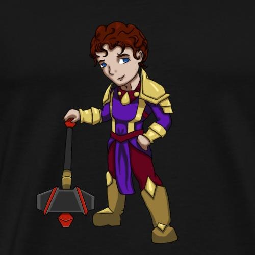 Jamie The Holy Paladin v2.0 - Men's Premium T-Shirt
