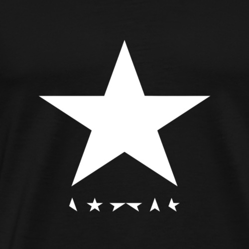 david bowie - whitestar - Men's Premium T-Shirt