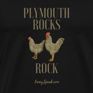 Plymouth Rocks Rock - Men's Premium T-Shirt
