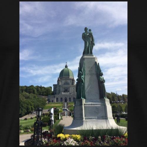 St. Joseph Oratory. Montreal. Canada. - Men's Premium T-Shirt