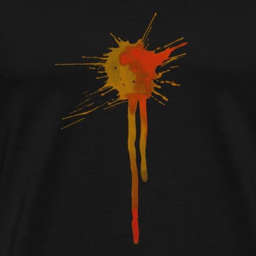 Watercolor Splats 1 - Men's Premium T-Shirt