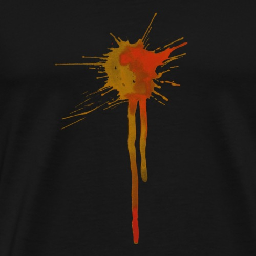 Watercolor Splats 1 - Men's Premium T-Shirt